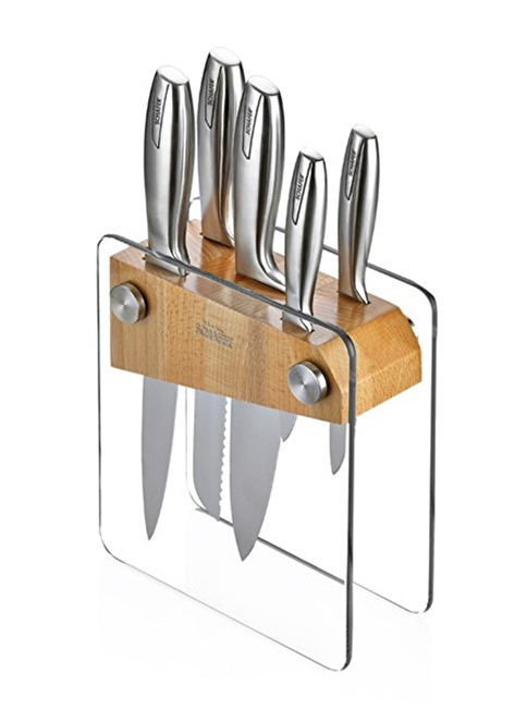 Schafer 6 Parça Bıçak Seti Renkli